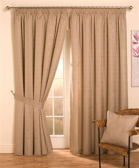 door curtains cheap lined top pencil pleat jacquard curtains