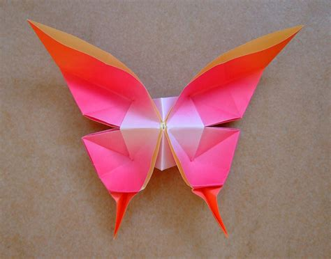 origami butterfly origami maniacs origami swallowtail butterfly by evi