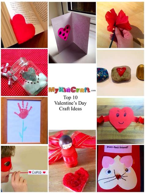 diy valentines crafts for top 10 crafts for s day my kid craft