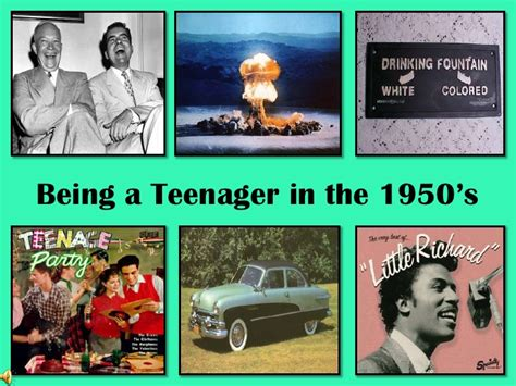 in the being a in the 1950 s