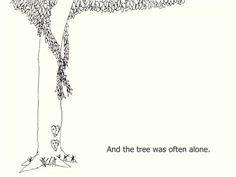 the giving tree picture book pdf and the tree was often alone the giving tree by shel