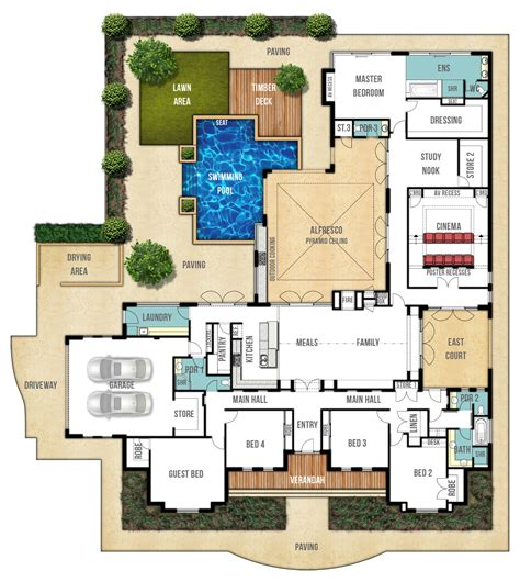 house plans and designs single storey home plans quot the farmhouse quot by boyd design