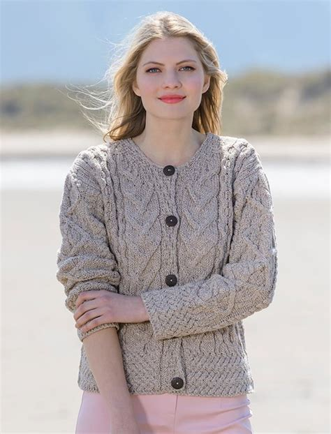 how to knit aran sweater aran cable knits cardigan cable knit cardigans for