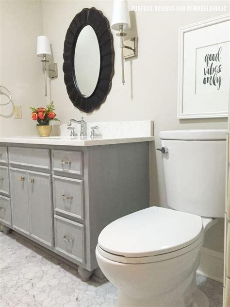 chalkboard paint ideas for bathroom remodelaholic chalk paint 174 bathroom vanity makeover