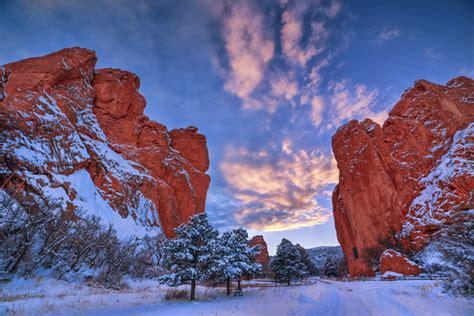 Garden Of The Gods Winter Lars Leber Photography Colorado Springs Area Garden Of