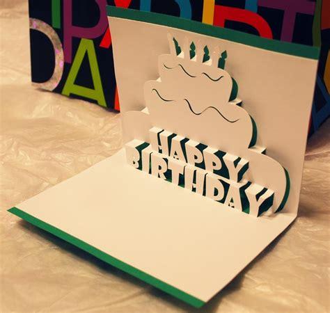 how to make happy birthday pop up cards happy birthday pop up card by peadenscottdesigns on etsy