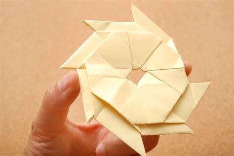 sticky note origami how to make a sticky note shuriken 9 steps with pictures