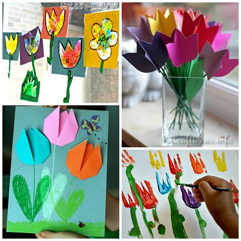 crafts for to make for beautiful tulip crafts that can make crafty morning