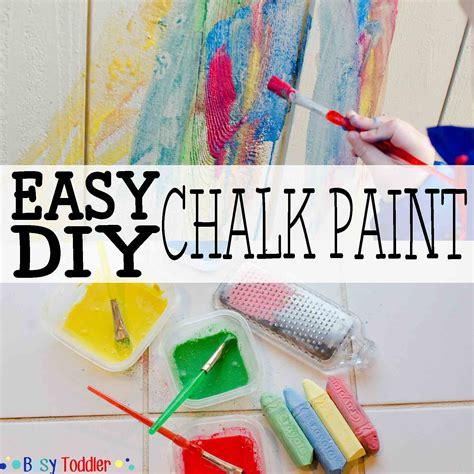 diy chalk paint outside easy diy chalk paint busy toddler
