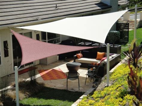 patio sail shade 25 best ideas about triangle sun shade on