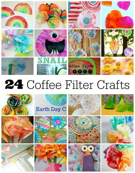 crafts for to make 24 coffee filter crafts to make make and takes
