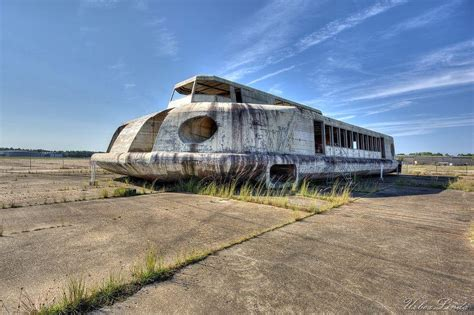 abandoned places in usa abandoned hovercraft rotting away on a disused florida