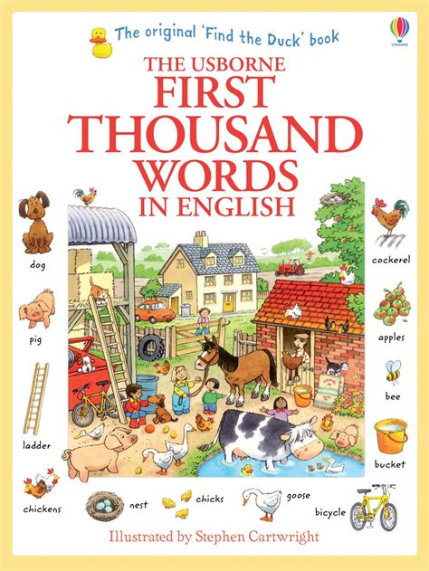 vocabulary picture book thousand words in at usborne children s books