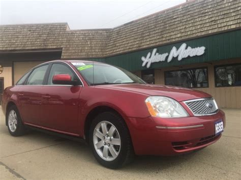 2007 Ford Five Hundred by 2007 Ford Five Hundred Sel Awd City Nd Heiser Motors