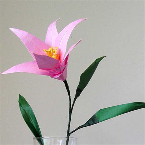 origami lilies easter origami flower graceincrease custom origami