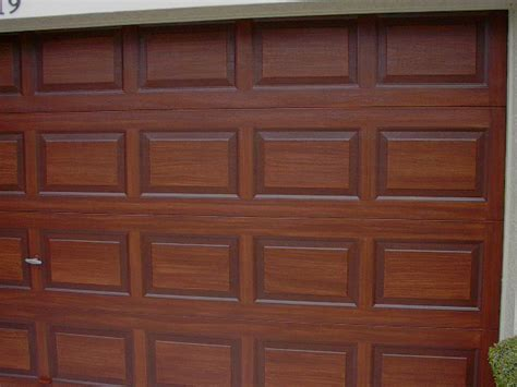 paint colors that look like wood paint a metal garage door to look like wood everything i