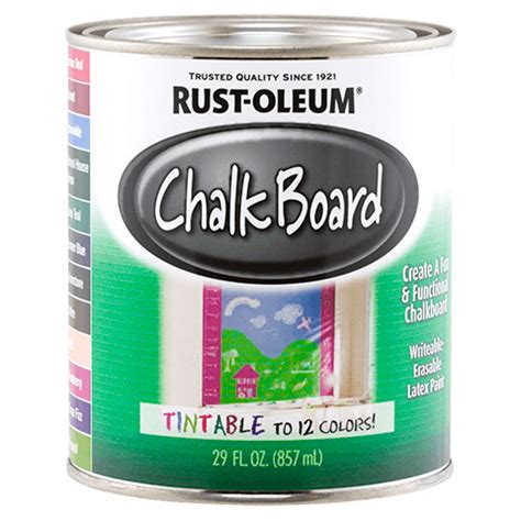 chalkboard paint rustoleum colors specialty chalkboard tint base product page