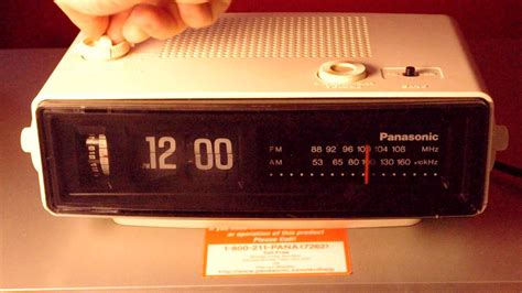 groundhog day clock the panasonic alarm clock from quot groundhog day quot