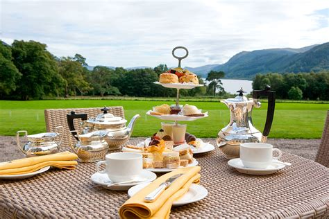 Traditional Afternoon Tea for Two at Armathwaite Hall Hotel