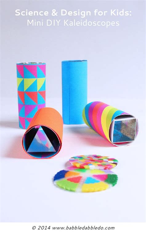 kaleidoscope craft for mini diy kaleidoscopes open ended toilets for and