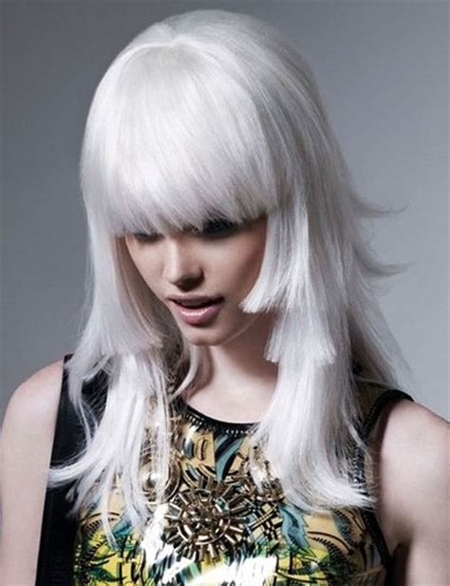 white in hair snow white hair dye 6 frosty white hair chalks hairchalk