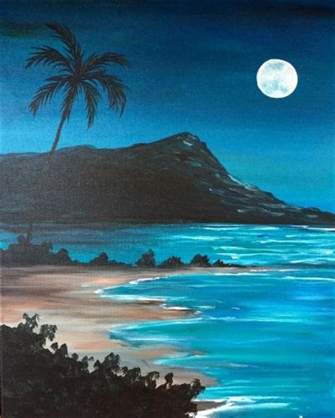 paint nite island pictures 17 best ideas about nature paintings on