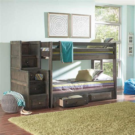 grey bunk beds gray bunk bed the furniture shack discount furniture