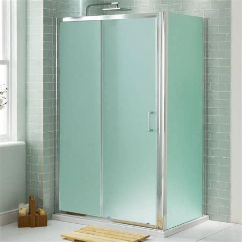 opaque shower doors small and narrow shower bathroom design with opaque glass
