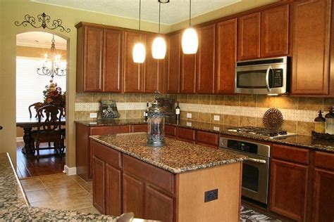 Colors For Kitchen Walls With Oak Cabinets new venetian gold granite for stunning home design