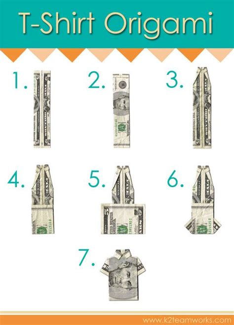 origami shirt folding 26 best images about wedding money gifts on