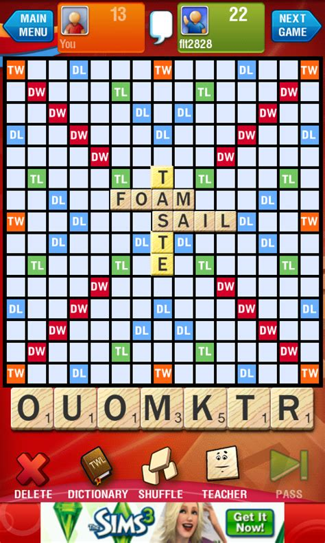is ve a word in scrabble ea s official scrabble is released android central