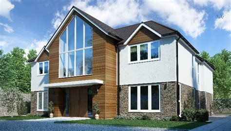 five bedroom house self build timber frame house designs range timber frame