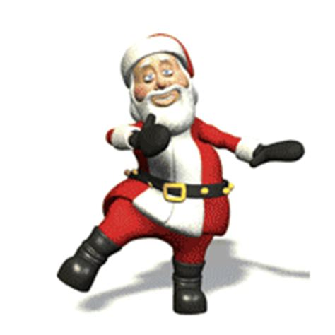 santa clause clip animations