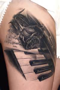 60 amazing piano tattoos