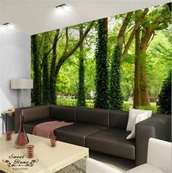 green forest nature landscape wall paper wall print decal home decor wall mural ebay