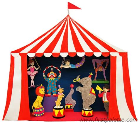 circus crafts for circus puppet theater craft circus crafts for