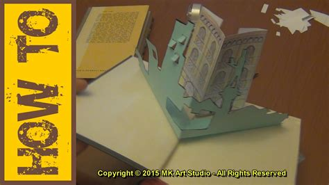 how to make a pop up i you card how to make pop up book