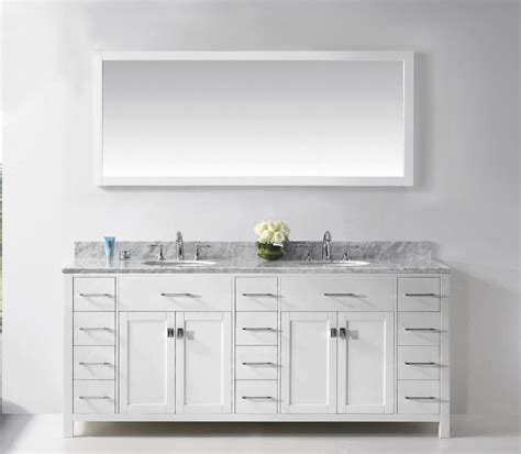 white vanity mirror for bathroom rectangle white solid wood bathroom vanity cabinet