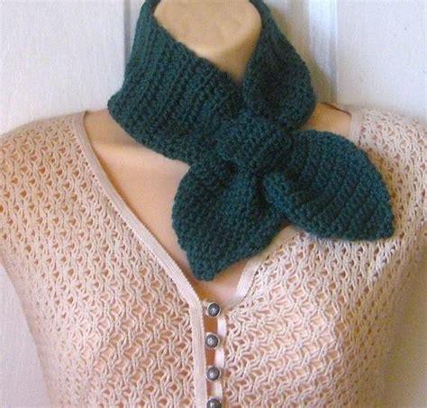 ascot scarf knitting pattern ascot scarf crochet pattern by melp craftsy
