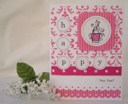 new year card ideas new year cards send a handmade greeting card with this