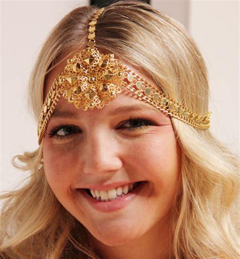 Stunning Amazing Chain Headpiece Jewelry Weddings
