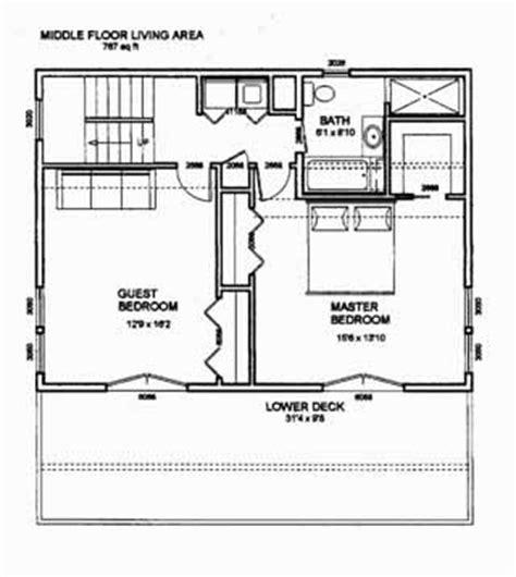 bedroom blueprint the gorge house blue prints