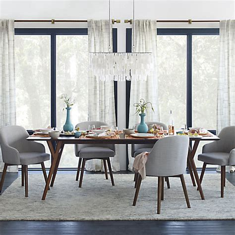 west elm dining room chairs buy west elm saddle dining chair crosshatch steel