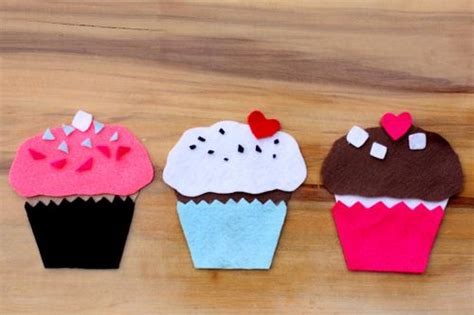 paper cupcake craft build a felt cupcake alpha