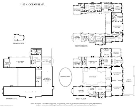 floor plans mansions mansion floor plans