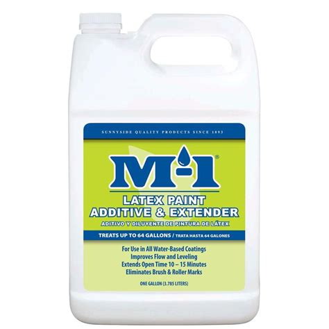 home depot paint extender m 1 1 gal paint additive and extender 703g1m the