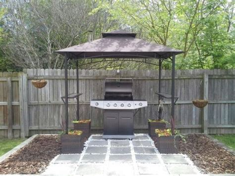 outdoor patio grill gazebo 21 grill gazebo shelter and pergola designs shelterness