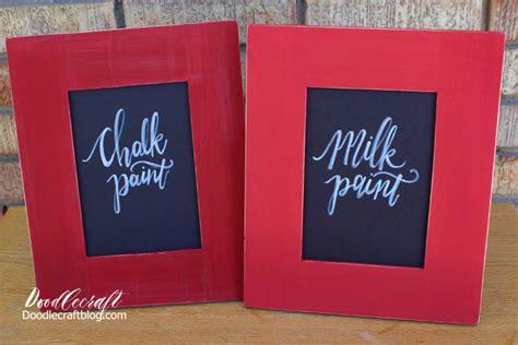 chalk paint vs milk paint doodlecraft chalk paint vs milk paint