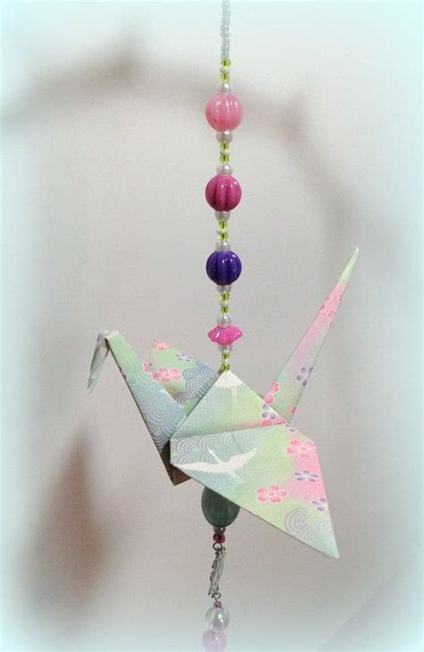 hanging origami decorations best 20 origami cranes ideas on origami paper