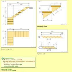 calcul escalier pearltrees
